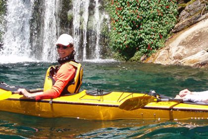 The refreshing sport of Kayaking